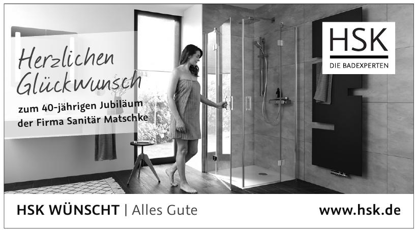 HSK - Die Badexperten