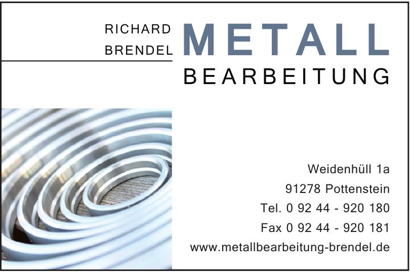 Metall Bearbeitung Richard Brendel