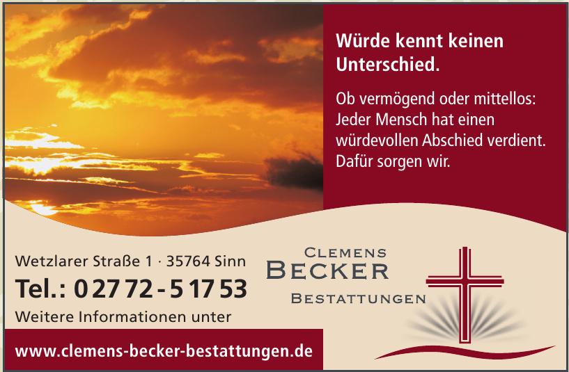 Clemens Becker Bestattungen