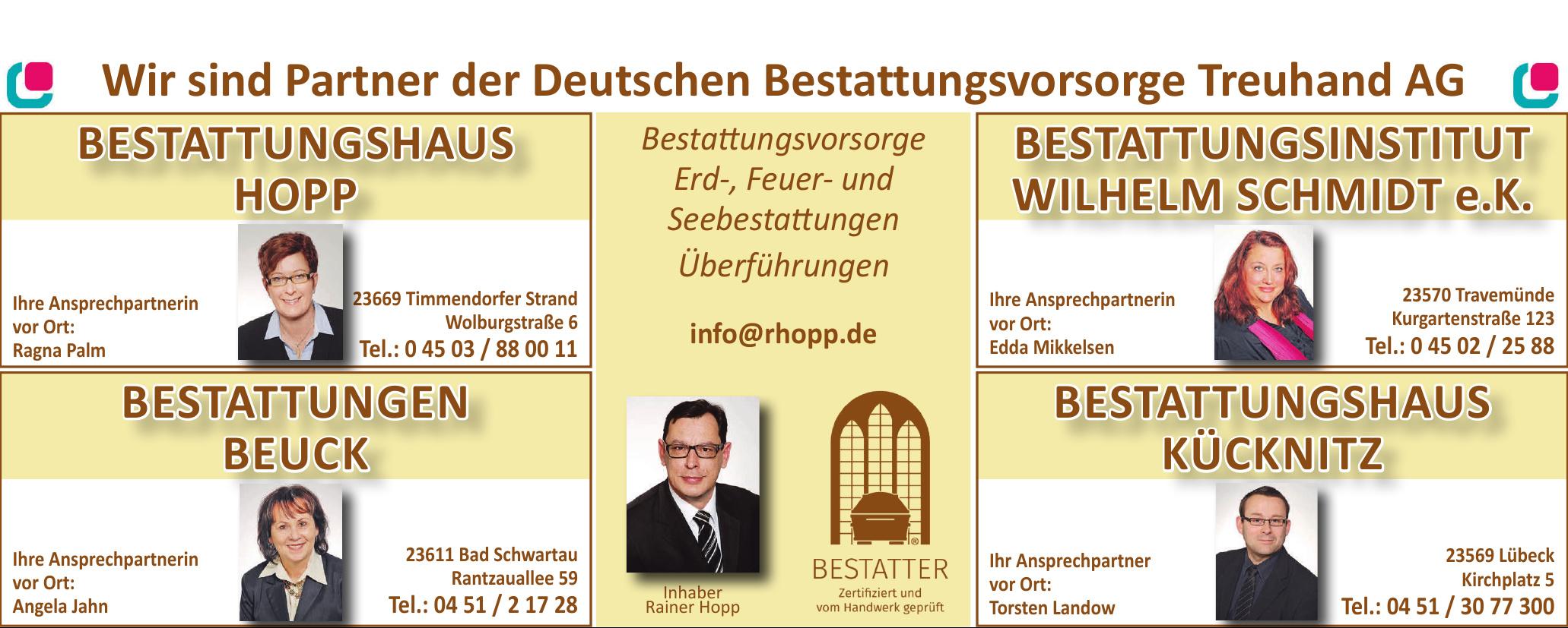 Bestatter - Bestattungshaus Hopp