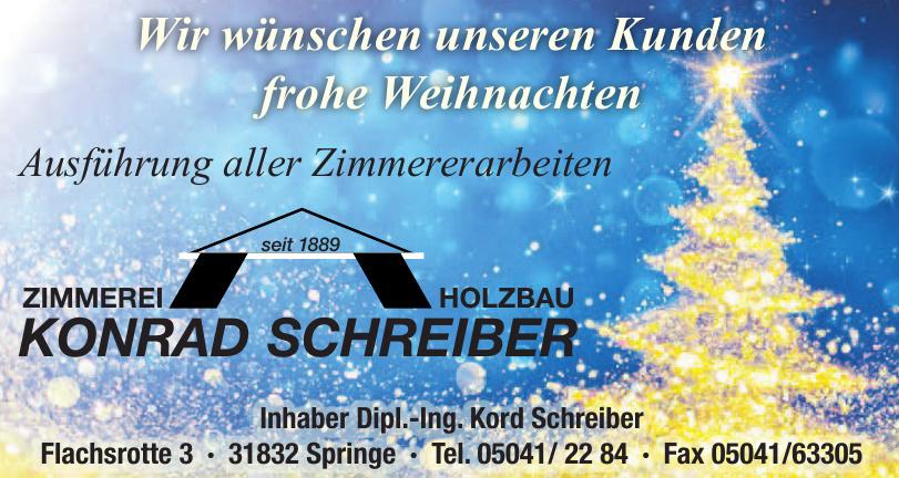 Konrad Schreiber Zimmerei Holzbau