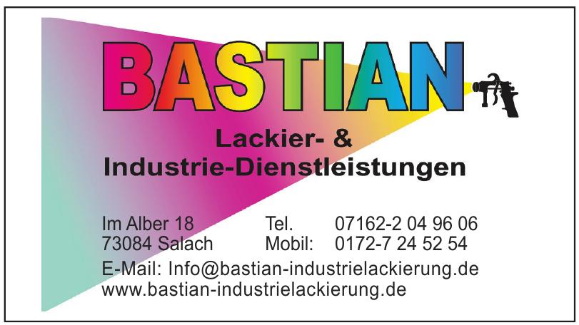 Bastian Lackier- & Industrie-Dienstleistungen