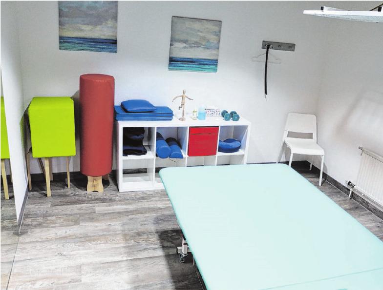 Die modern ausgestatteten Behandlungsräume sind großzügig.