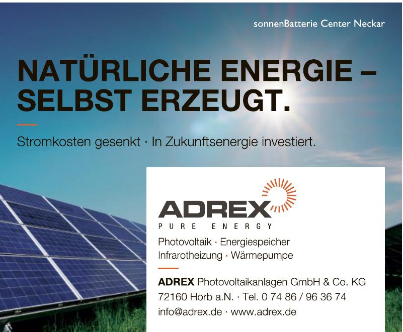 Adrex Photovoltaikanlagen GmbH & Co. KG
