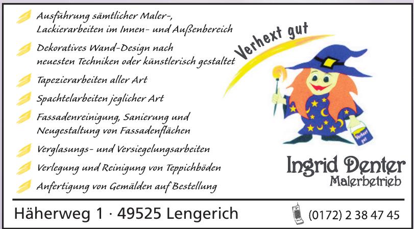Ingrid Denter Malerbetrieb