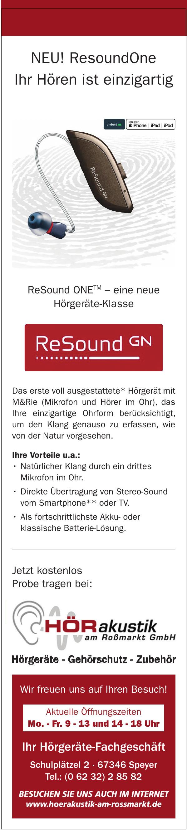 HÖRakustik am Rossmarkt GmbH