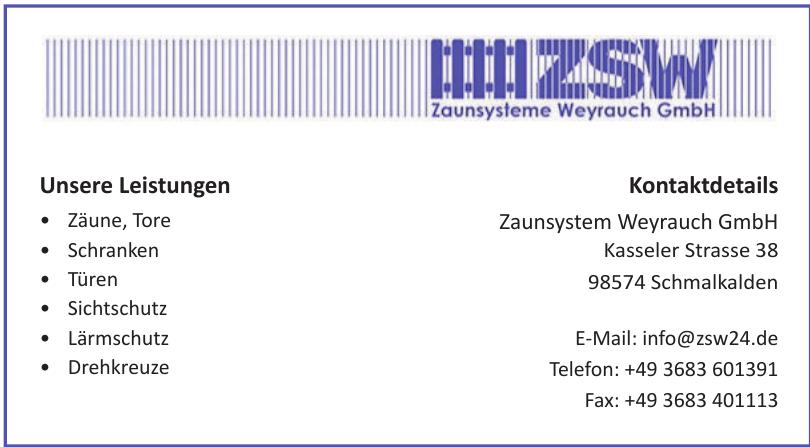 Zaunsystem Weyrauch GmbH