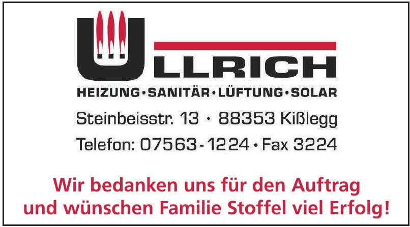 Ullrich Heizung, Sanitär und Lüftung GmbH