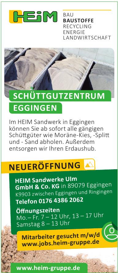 HEIM Sandwerke Ulm GmbH & Co. KG