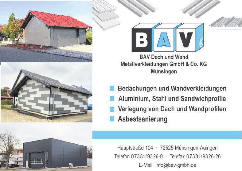 BAV Dach und Wand Metallverkleidungen GmbH & Co. KG