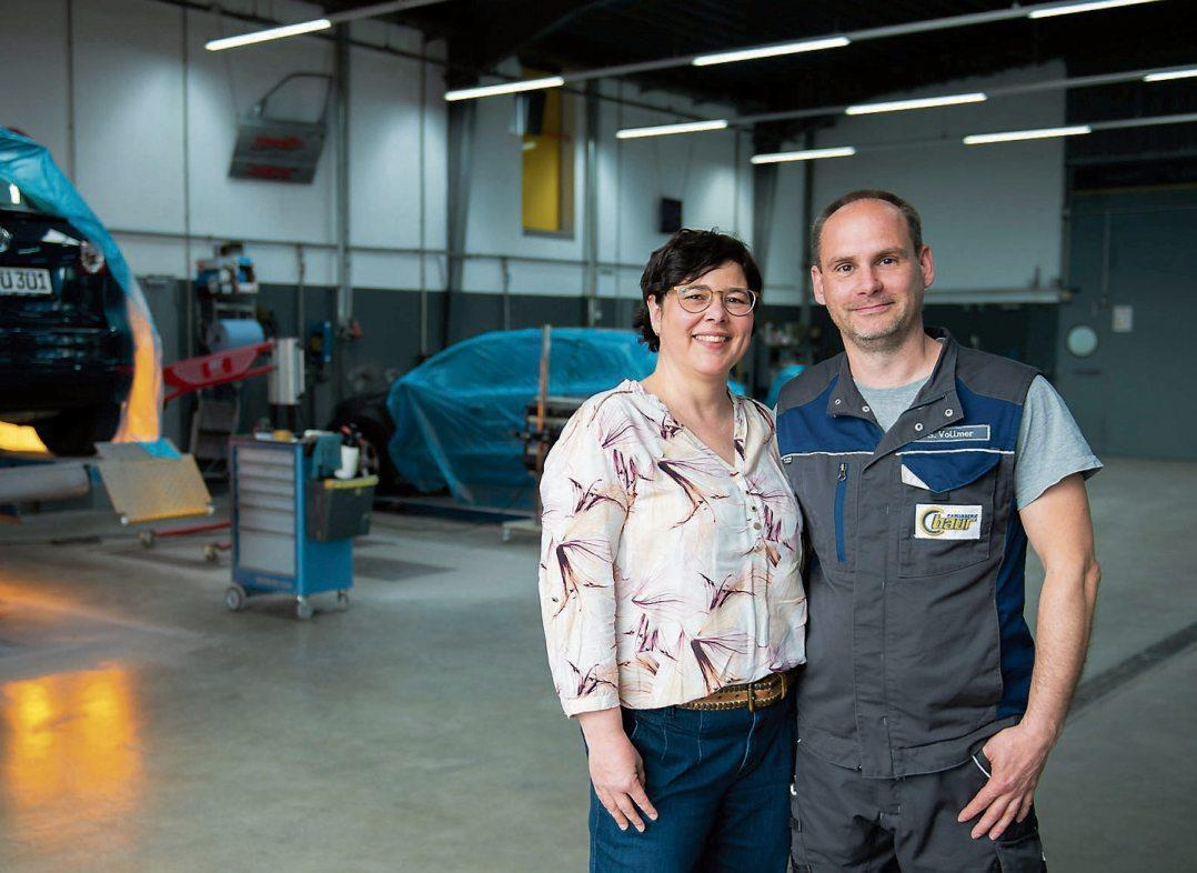Jasmin Baur-Vollmer leitet seit 2010 den Betrieb mit ihrem Ehemann Sebastian Vollmer als gemeinsame Geschäftsführer.