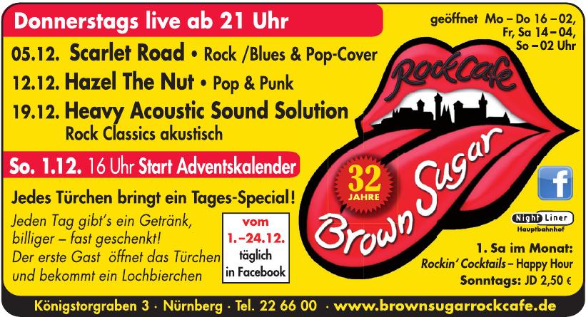 Brown Sugar Rock Cafe