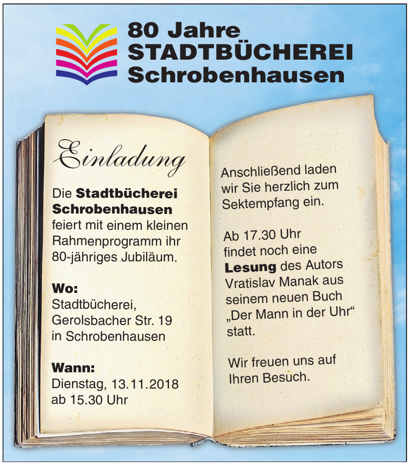 Stadtbücherei Schrobenhausen