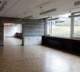 Auch das große Lehrerzimmer erstrahlt in neuem Glanz.
