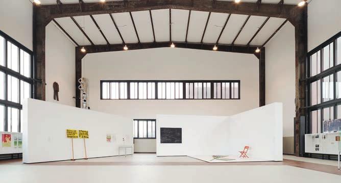 Die Beuys-Ausstellung in der neuen Kunsthalle auf Zollverein. Foto: Brigida Gonzalez