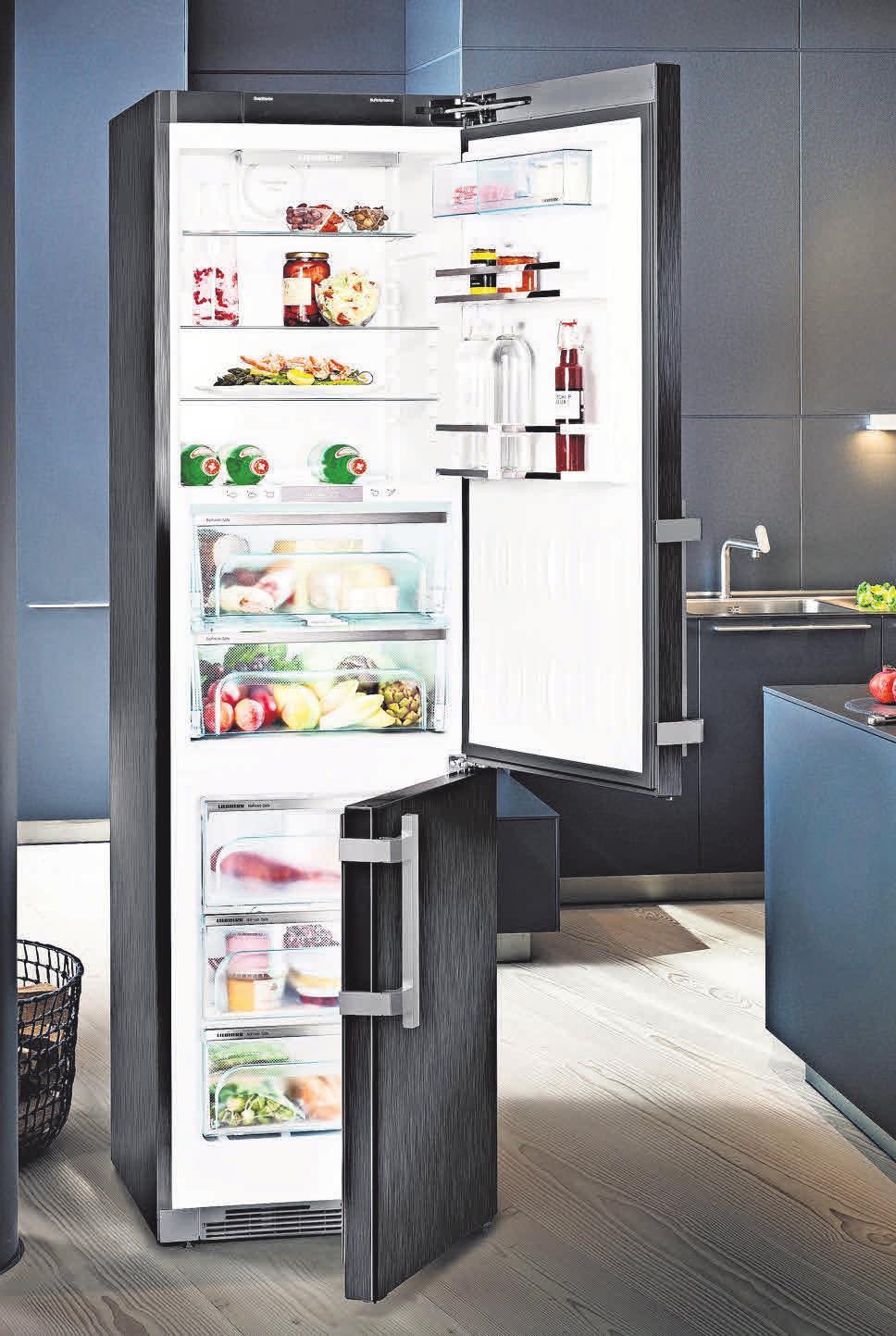 CBNbs 4878 Premium-Kühl-Gefrier-Kombination: Sparsam, energieeffizientmit BioFresh und NoFrost-Technologie für längere und schonendere Lagerung von Lebensmitteln .