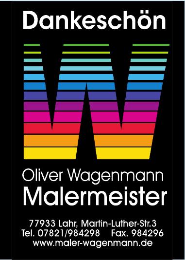 Oliver Wagenmann, Malermeister