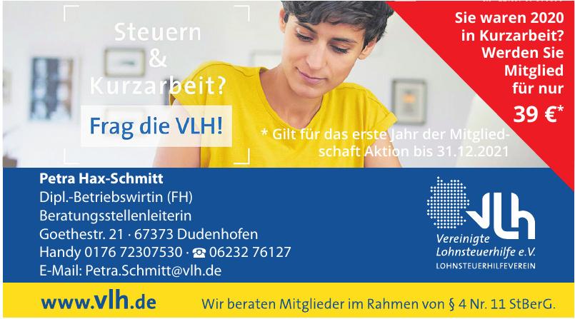VLH Petra Hax-Schmitt