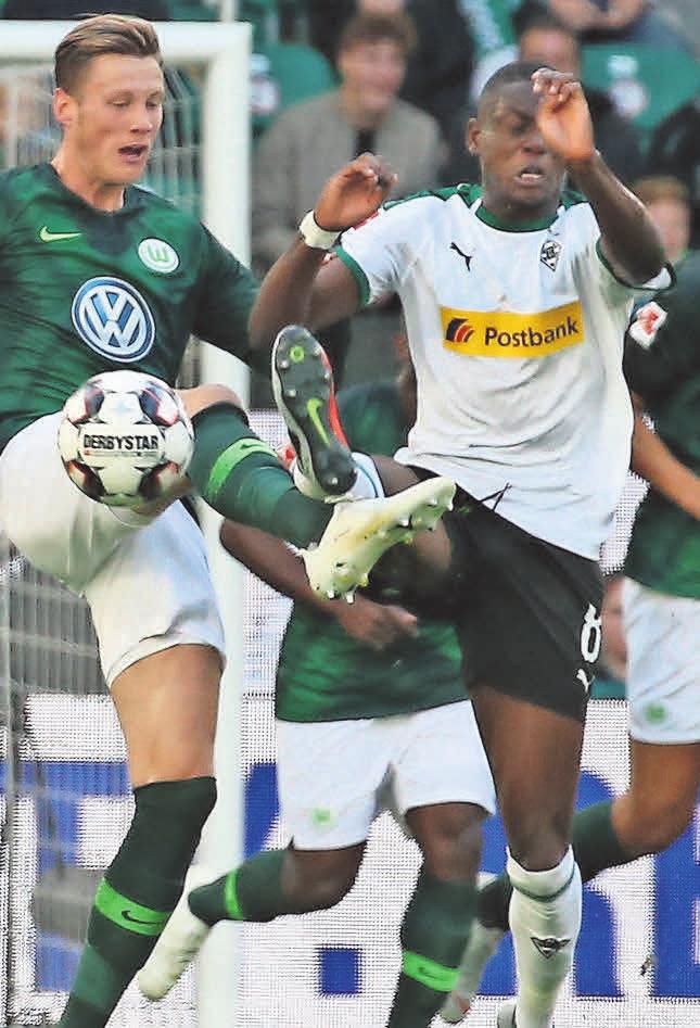 Start gegen Wolfsberg: Denis Zakaria (r.) und Borussia Mönchengladbach.