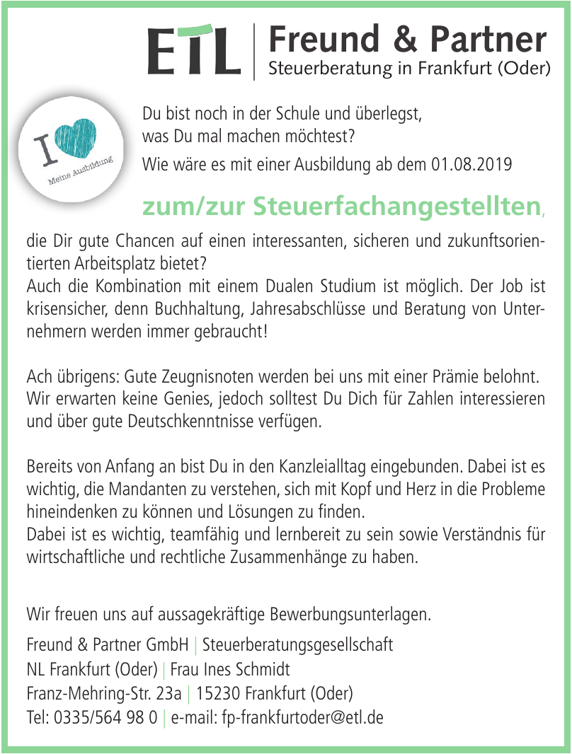 Freund & Partner GmbH Steuerberatungsgesellschaf
