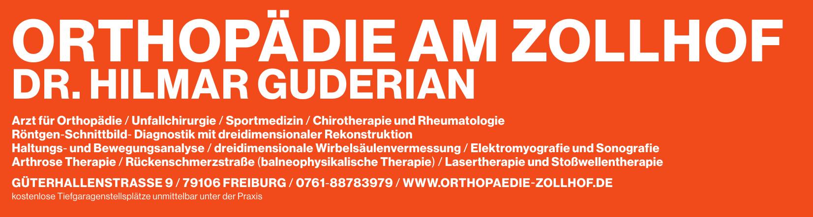 Orthopädie am Zollhof Dr. Hilmar Guderian