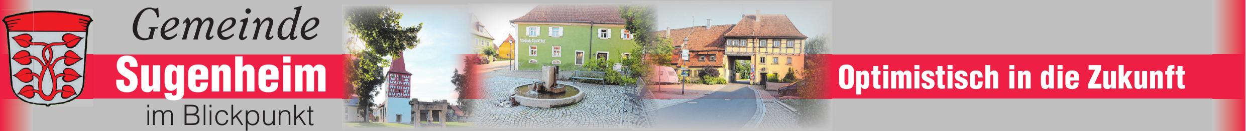 """In Sugenheim ist vieles """"im Fluss"""", einiges ging """"den Bach hinunter"""" und in manchen Dingen kann keine andere Gemeinde Sugenheim """"das Wasser reichen"""" Image 1"""