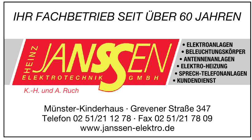 Elektrotechnik Janssen GmbH
