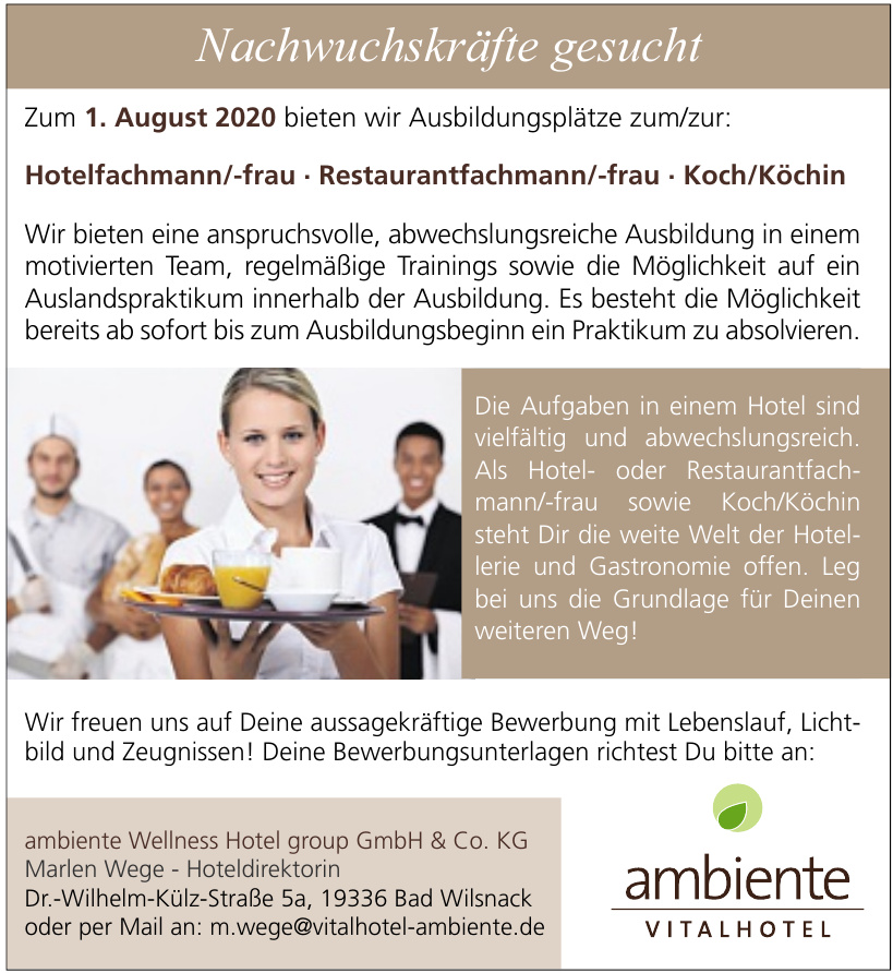Wellnes Hotel group GmbH & Co. KG