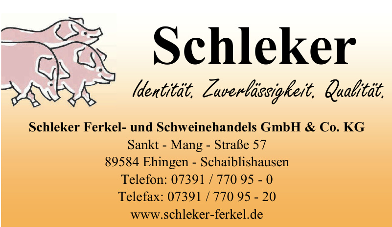 Schleker Ferkel- und Schweinehandels GmbH & Co. KG
