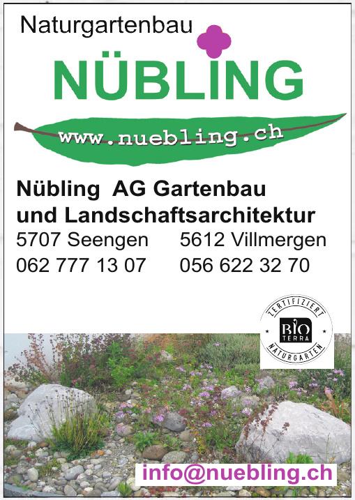 Nübling AG Gartenbau und Landschaftsarchitektur