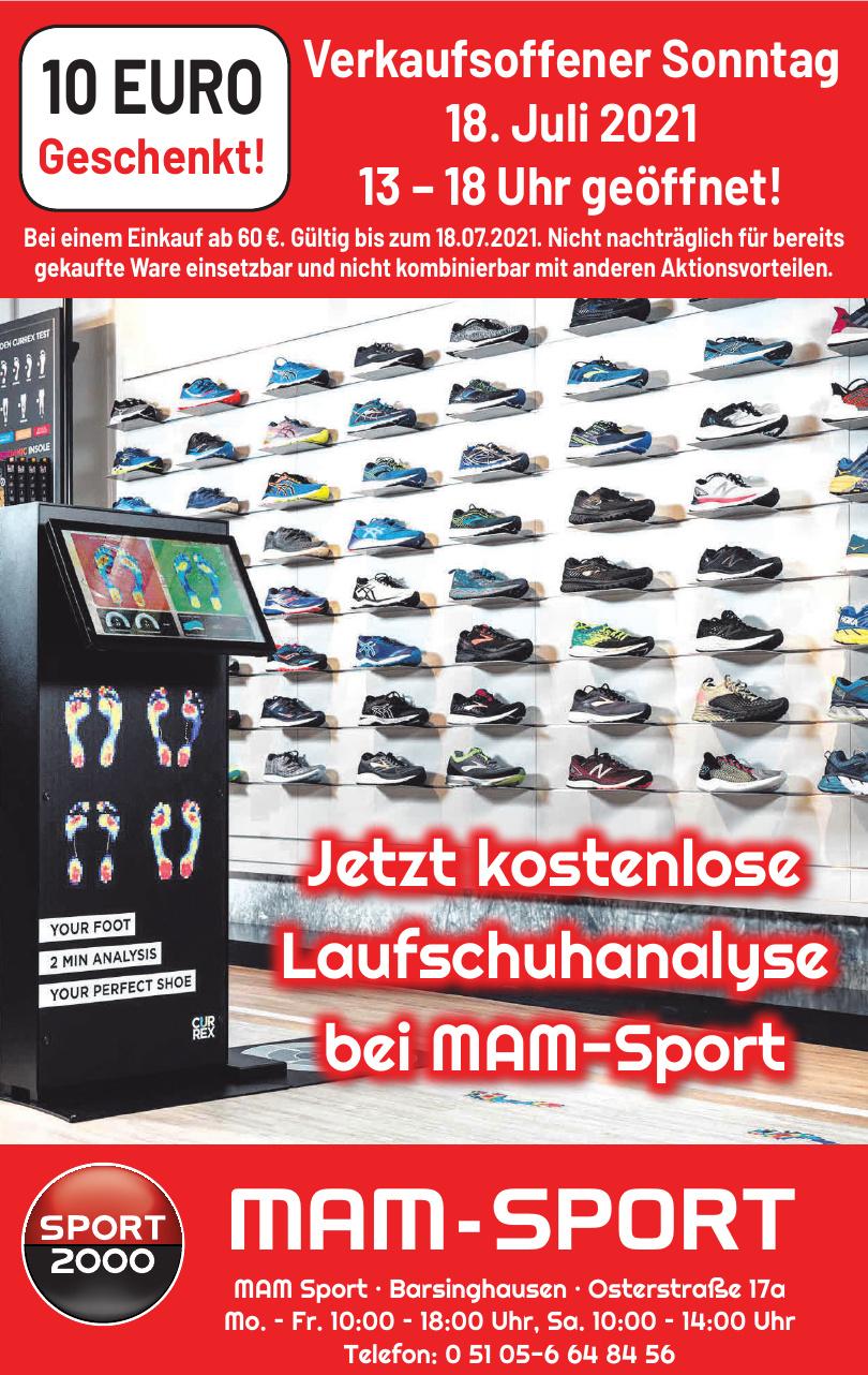 MAM Sport
