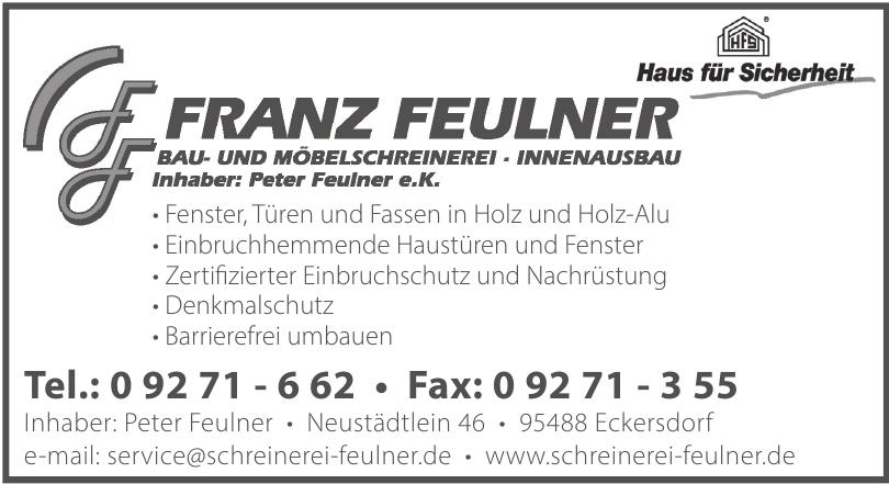 Schreinerei Franz Feulner