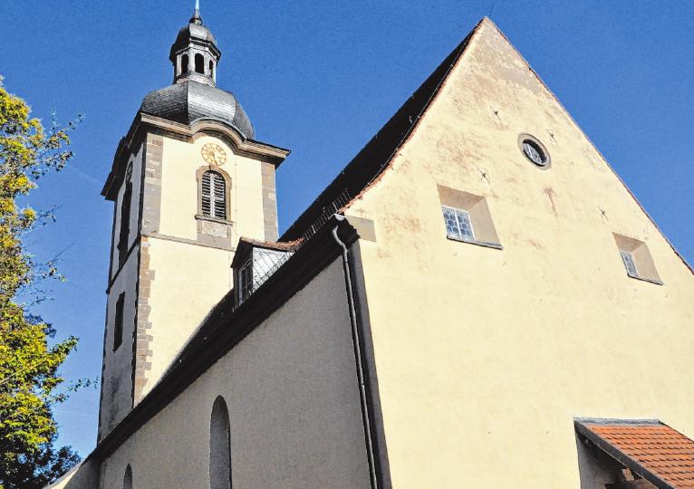 Die Rügheimer Kirche FOTO: MARTIN SCHWEIGER
