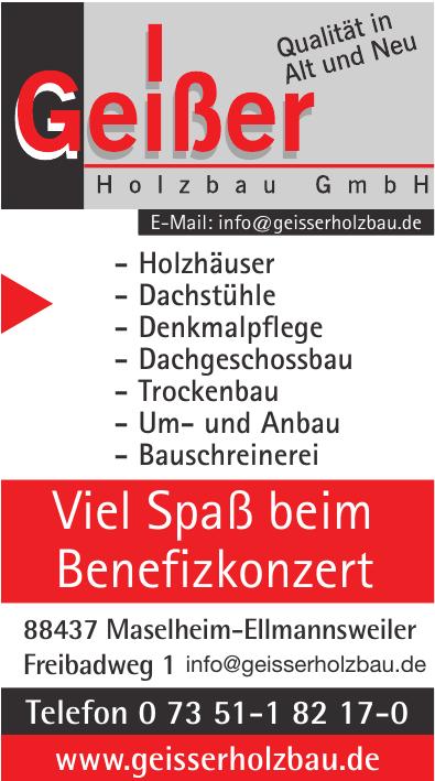 Geißer Holzbau GmbH