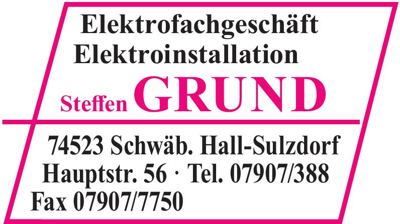 Steffen Grund Elektrofachgeschäft