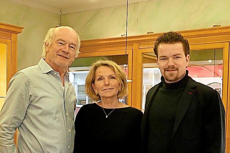 Von links: Jürgen, Ursula und Sven Wiedemann WIEDEMANN