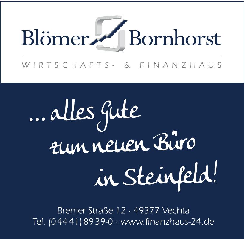 Blömer & Bornhorst Wirtschafts- & Finanzhaus