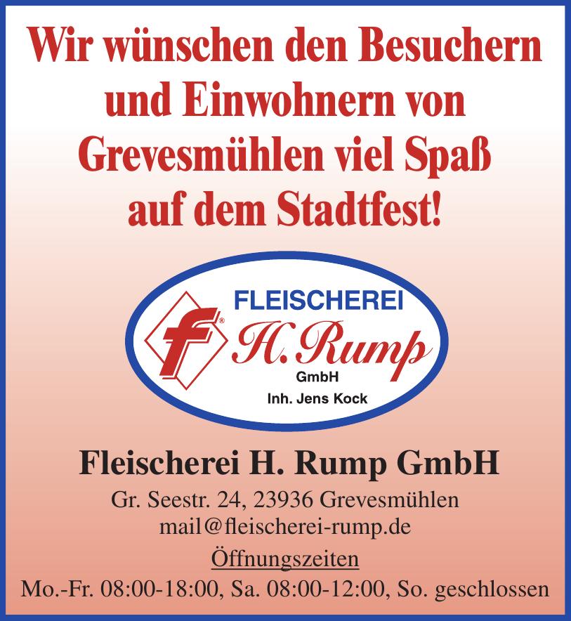 Fleischerei H. Rump GmbH