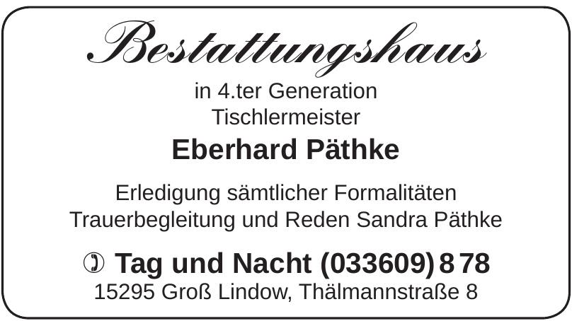 Eberhard Päthke