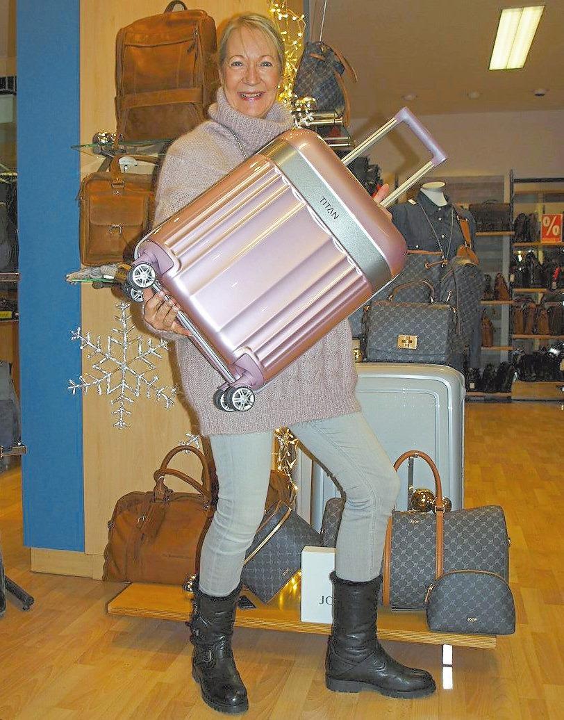 Das passende Reisegepäck gibt es bei Leder Deiters.