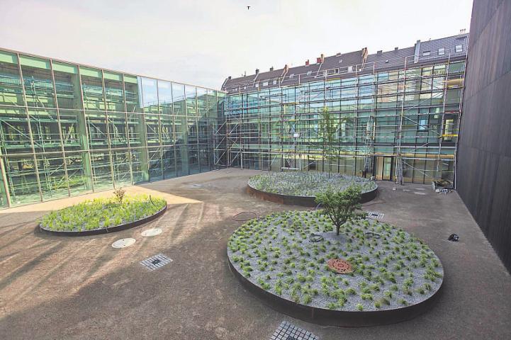 In den Innenhöfen hat sich schon eine Menge getan. Bild: Rheinisches Bildarchiv Köln/Michael Albers