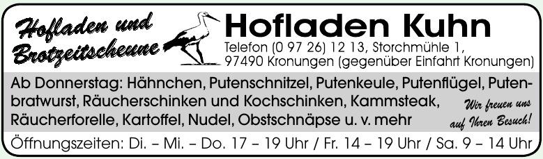 Hofladen Kuhn