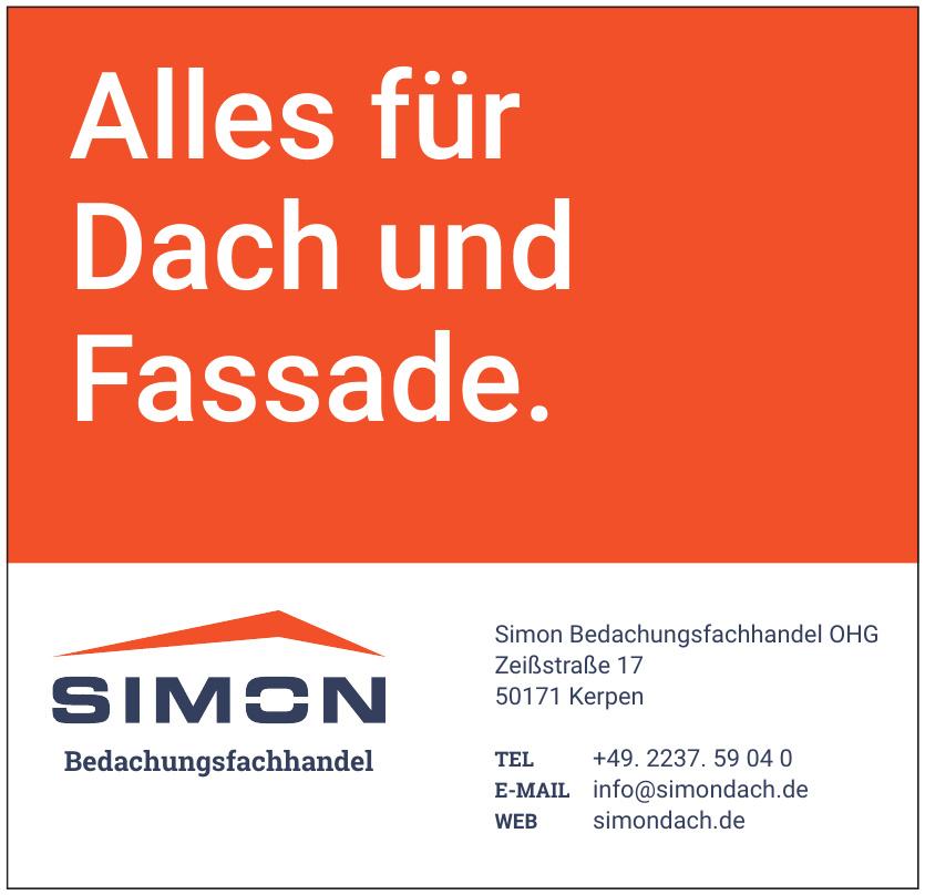Simon Bedachungsfachhandel OHG