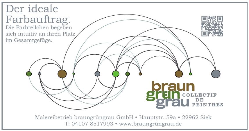 Malereibetrieb braungrüngrau GmbH