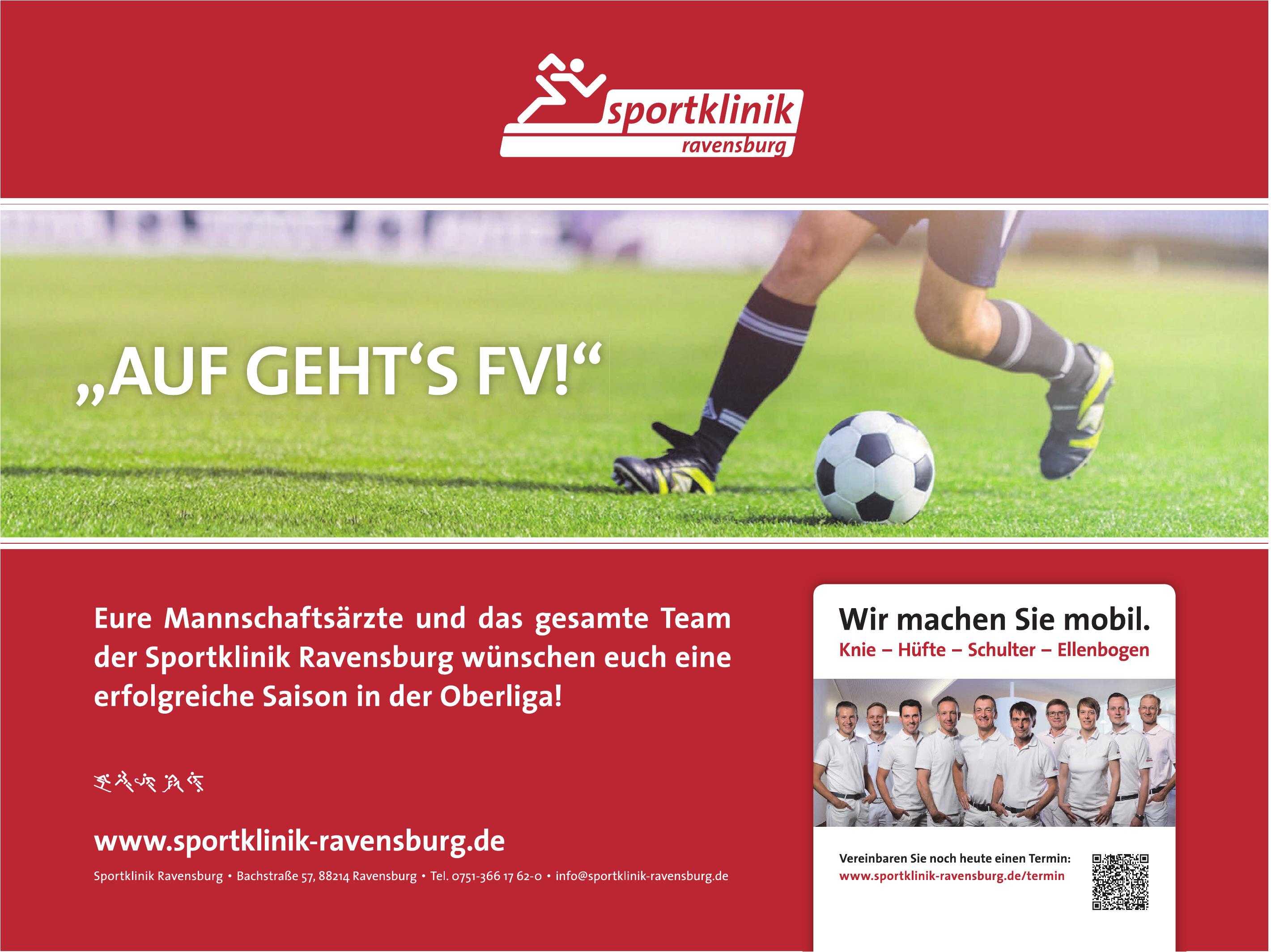 Sportklinik Ravensburg