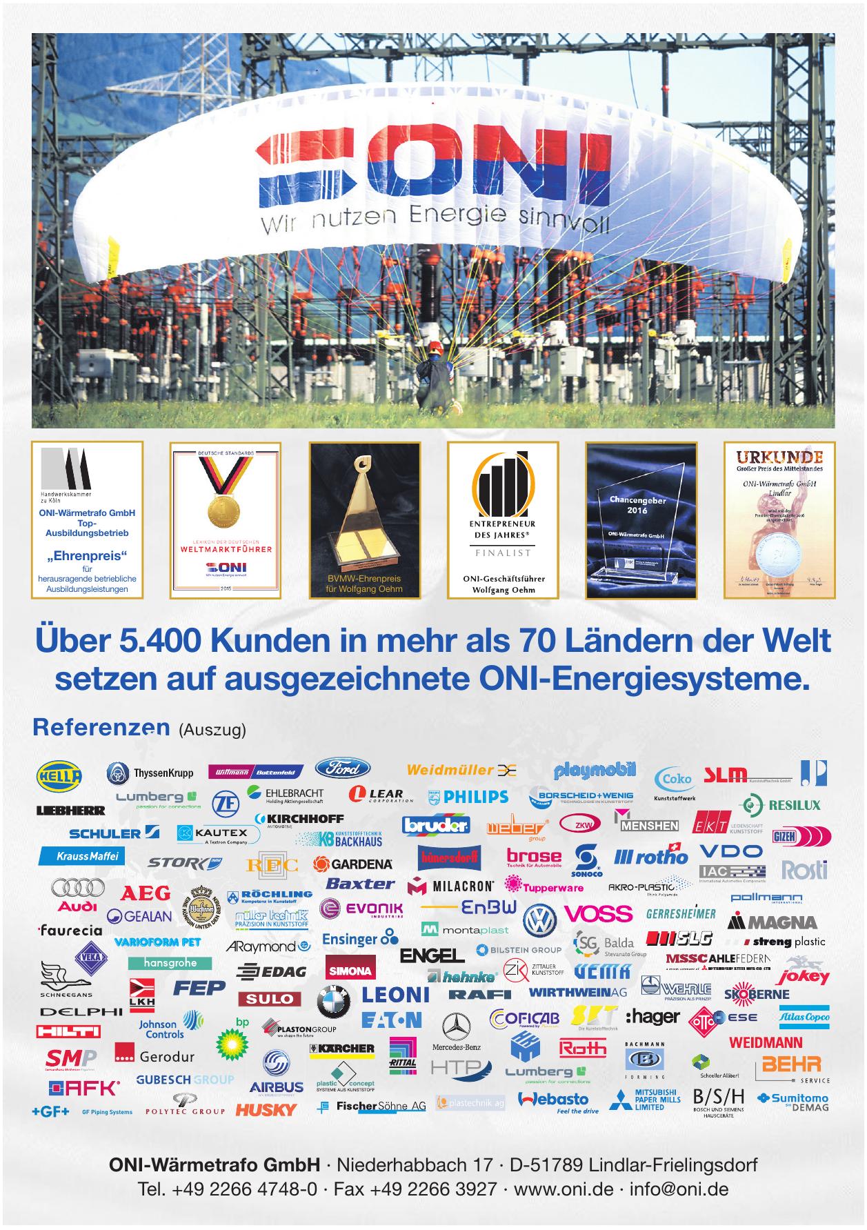 ONI-Wärmetrafo GmbH