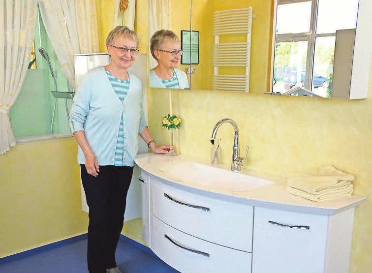 Gisela Werner hat mit ihrem Mann Karl-Heinz Werner vor etwa 50 Jahren den Neustädter Handwerksbetrieb K.H. Werner Sanitär- und Heizungstechnik gegründet.
