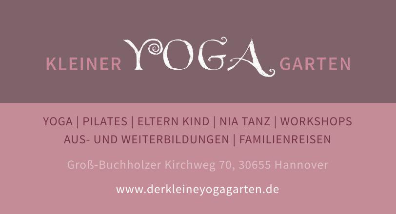 Kleiner Yoga Garten
