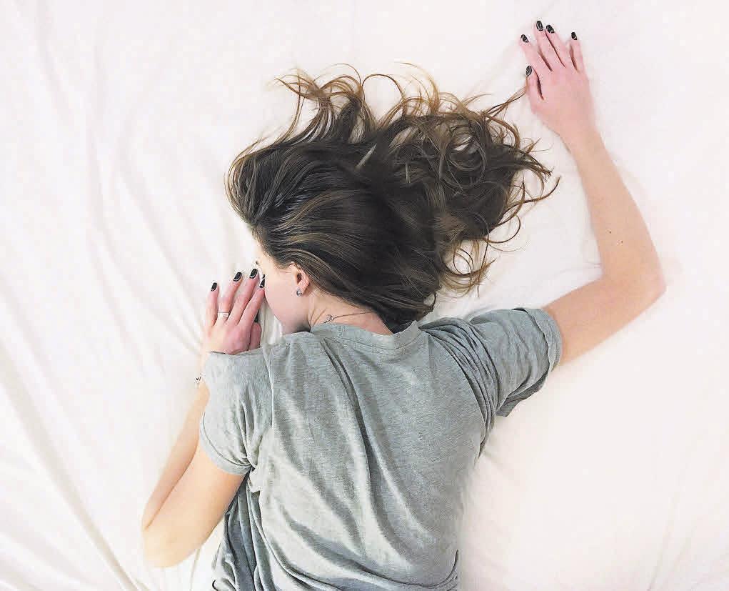 Fast jeder Mensch hat eine bevorzugte Schlafposition: Foto: Pixabay