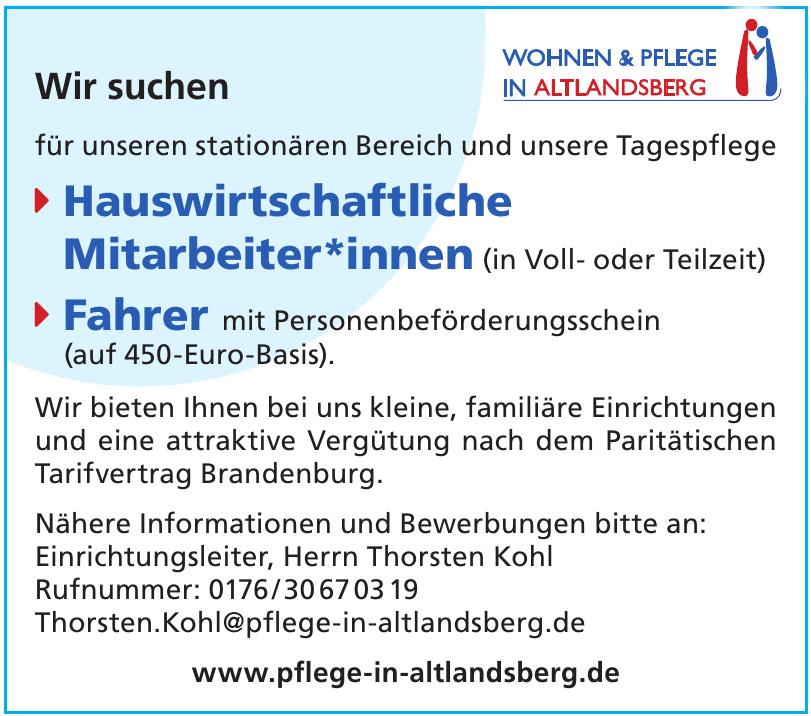 Wohnen & Pflege in Altlandsberg